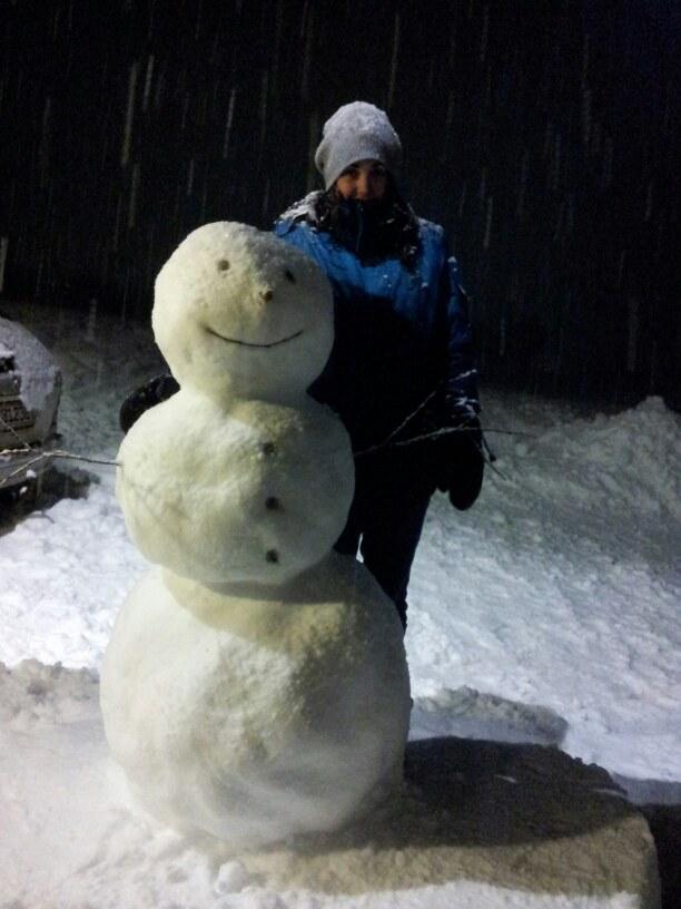Snømannen Kvist, Myrkdalen Voss