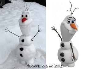Snømannen Olaf