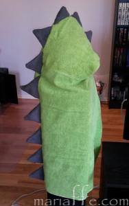 Hjemmesydde dragehåndklær